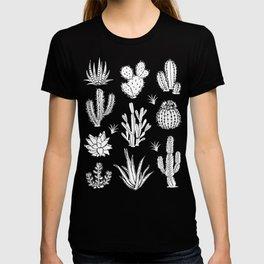 Cactus Pattern on Teal T-shirt