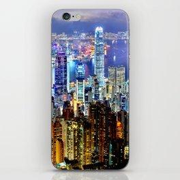 Hong Kong City Skyline iPhone Skin