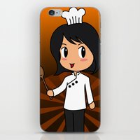 chef iPhone & iPod Skins featuring Chef by Flying Cat Artwork