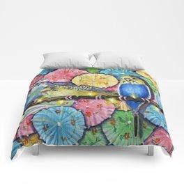Parakeet Theater Comforters