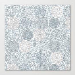 Silver Souk Canvas Print