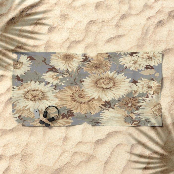 autumn cool Beach Towel