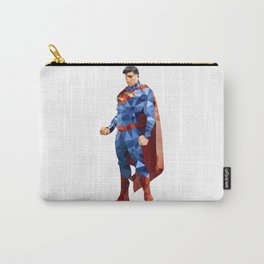 Superman Triangulation Carry-All Pouch