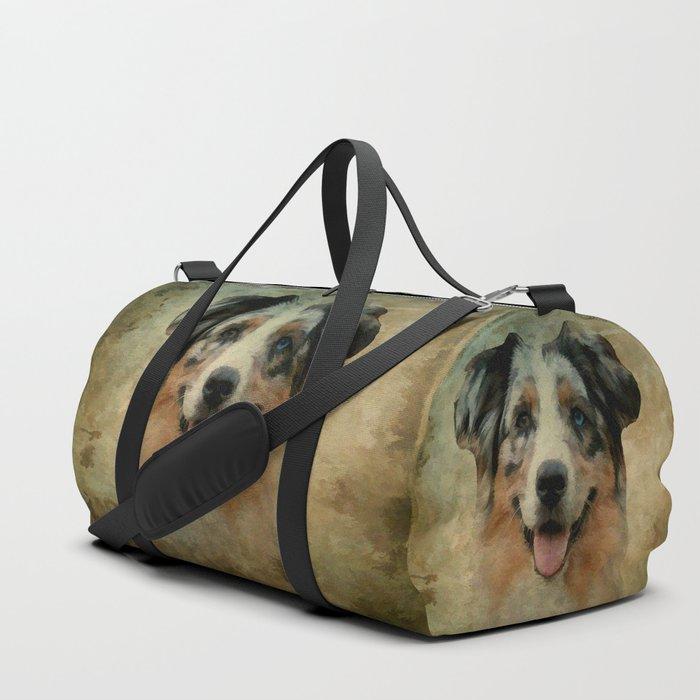 Australian Shepard - Aussie Duffle Bag