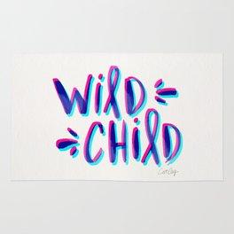 Wild Child – Magenta & Cyan Palette Rug
