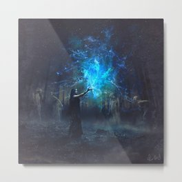 In Salem's Nights Metal Print
