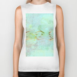 watercolor Biker Tank