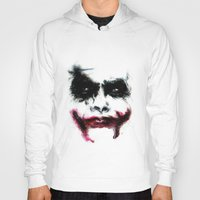 joker Hoodies featuring Joker by Lyre Aloise