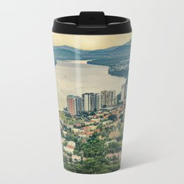 Aerial View of Guayaquil from Window Plane Travel Mug