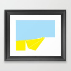 Median Framed Art Print