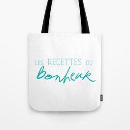 Les Recettes du bonheur  - LOVE Tote Bag