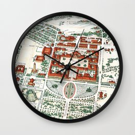 STANFORD CALIFORNIA University map Wall Clock