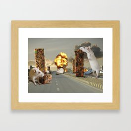 Infestation Framed Art Print