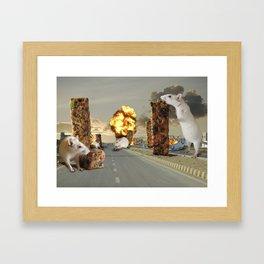Infestation Framed Art Print