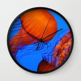 Color Jellyfish 1 Wall Clock