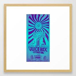 Juice box Framed Art Print