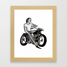 Sirius Framed Art Print