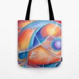 faraway worlds. mundos distantes Tote Bag