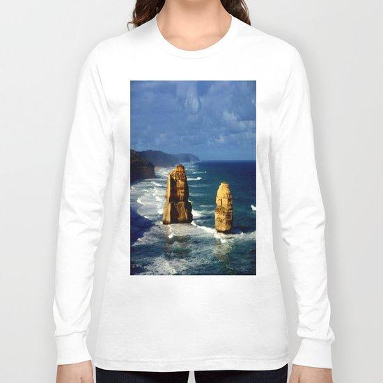 Limestone Rock Stacks & Headlands Long Sleeve T-shirt