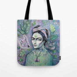 Magical Girl Frida Tote Bag