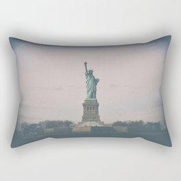 Statue of Liberty w Rectangular Pillow