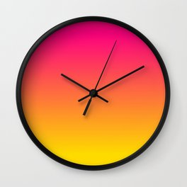 Ombre Cocktail Wall Clock