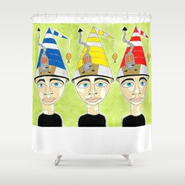 Some You Burn, Some You Keep Shower Curtain