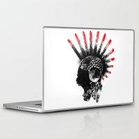 cyberpunk Laptop & iPad Skins featuring cyberpunk by rope
