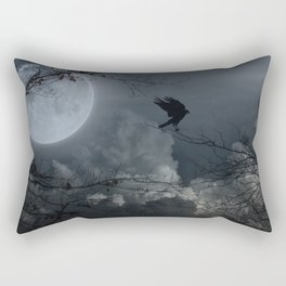 There's A Moon Out Tonight Rectangular Pillow