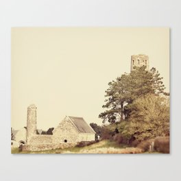 Clonmacnoise Canvas Print