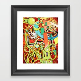 Like True Code Breakers Framed Art Print