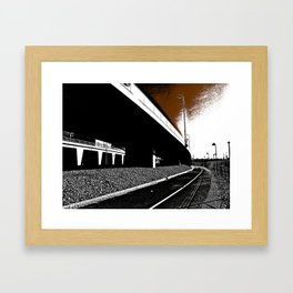 Bridge 2 Framed Art Print
