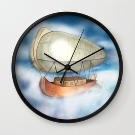 Take to the Sky Wall Clock