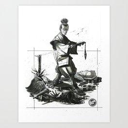 B4H Promo Concept Art Art Print