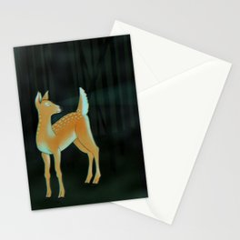 forest fawn Stationery Cards