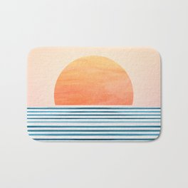 Morning in Paradise ~ Tropical Sunrise Bath Mat
