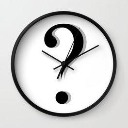 Big question Wall Clock