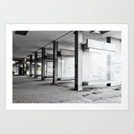 Belgrade / Tristesse Art Print
