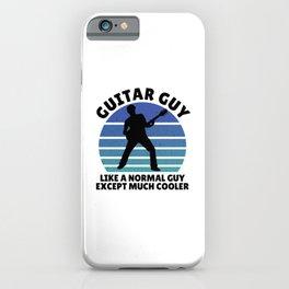 Guitar guy iPhone Case