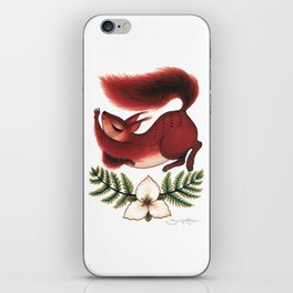 Squirrel Stretch iPhone Skin