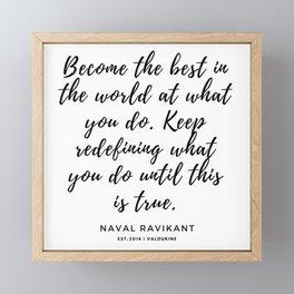 76     190423 Motivational Quotes Framed Mini Art Print