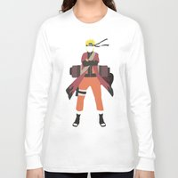 naruto Long Sleeve T-shirts featuring Sage Naruto by JHTY