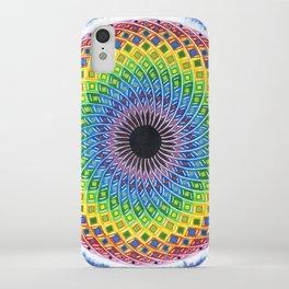 Cosmic Sunflower iPhone Case