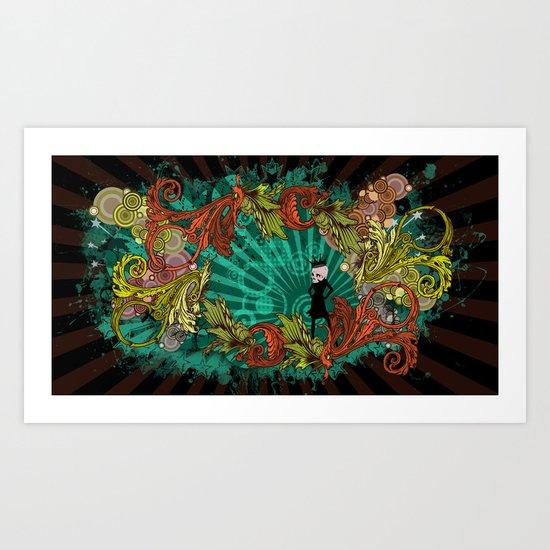 Party Devil Art Print