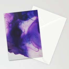 Violet Aura Stationery Cards
