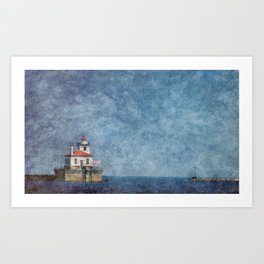 Lake Ontario Lighthouse Art Print