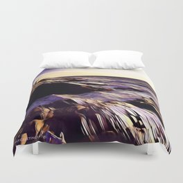 Jamestown Lighthouse, Jamestown RI Duvet Cover