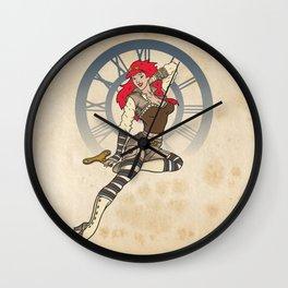 Clockwork Cutie Wall Clock