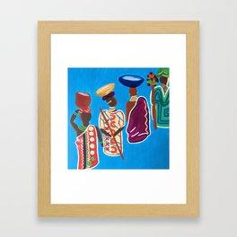 The Ancestors Framed Art Print