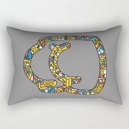 The Secret Life of Butt Rectangular Pillow